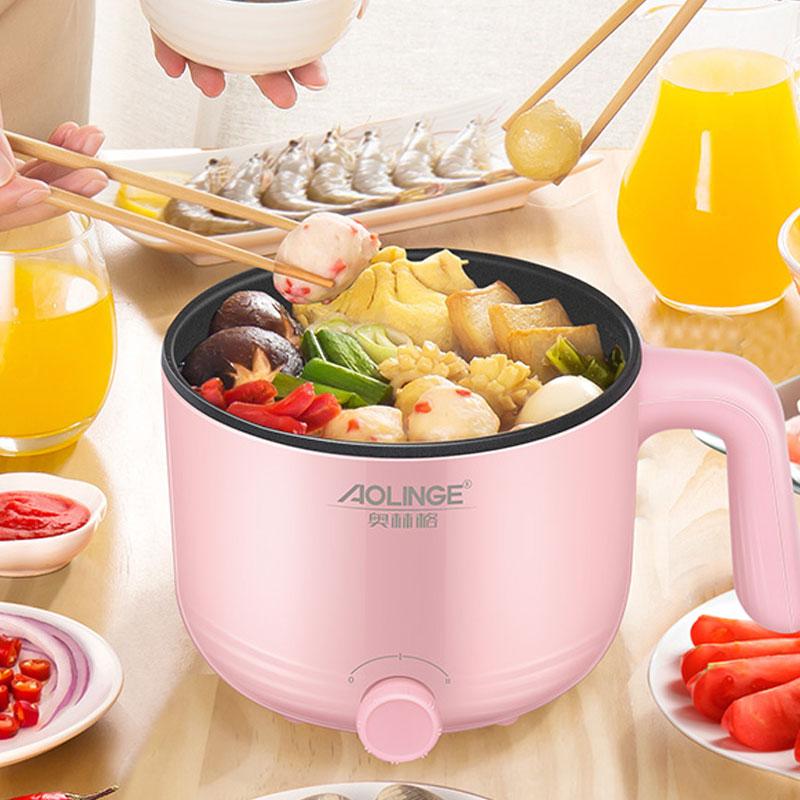 奥林格多功能家用1.2升电煮锅