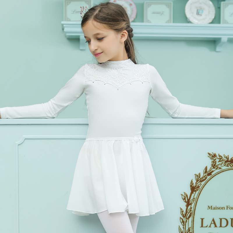 Children's Ballet Skirt Girls Skirt Chiffon Dance Half-length Gauze Skirt Soft Skirt