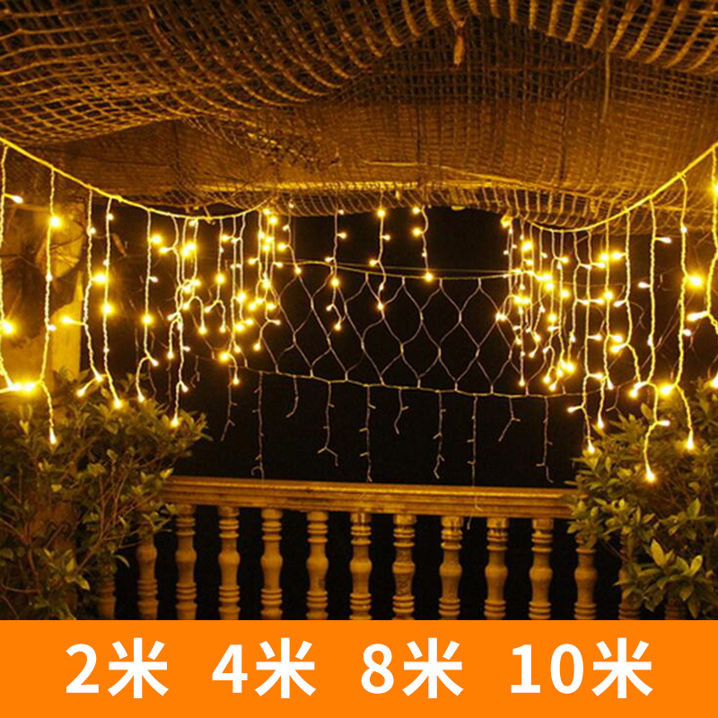 Usd 11 57 Curtain Lights Window Ice Lights Outdoor Lights Flashing
