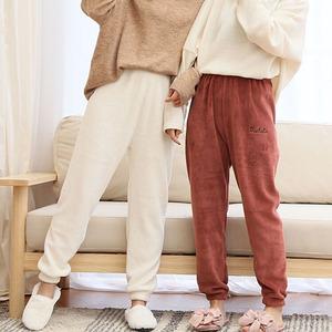 仙女珊瑚绒加厚暖暖裤
