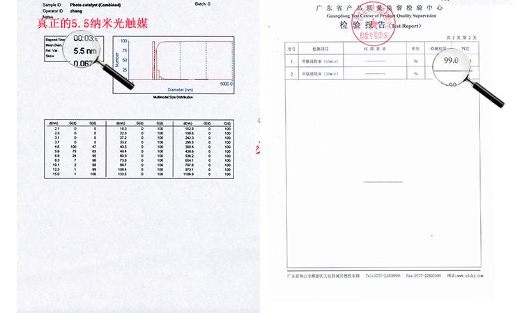 光触媒除甲醛清除剂纳米二氧化钛