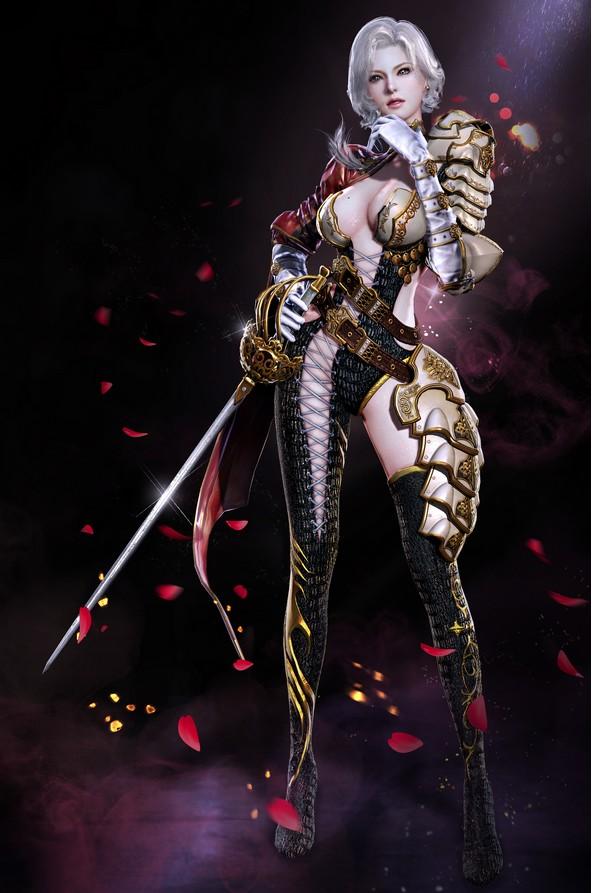 各种女战 战甲参阵 美术人物设计 战士类角色设计参考资源资料