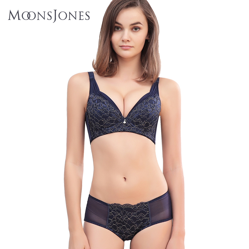 Bra adjustable large size bra set thin section gathered all the cups this  year s year of 99af53605