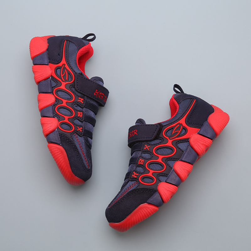 Children's sports shoes boys shoes spring and autumn 2018 new breathable big children casual running net shoes girls shoes