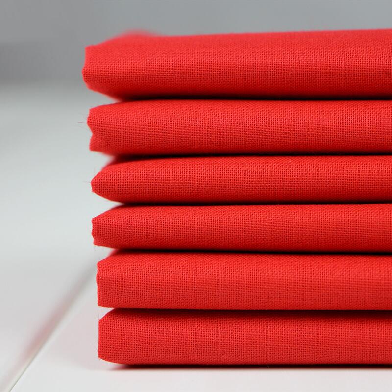 Красный Хлопок материал чистый хлопок Счастливое событие свадебное красный Bufo Bu красный Шелковая ткань полностью хлопок Китайский атлас ветра насыщенно-красный Цветная ткань
