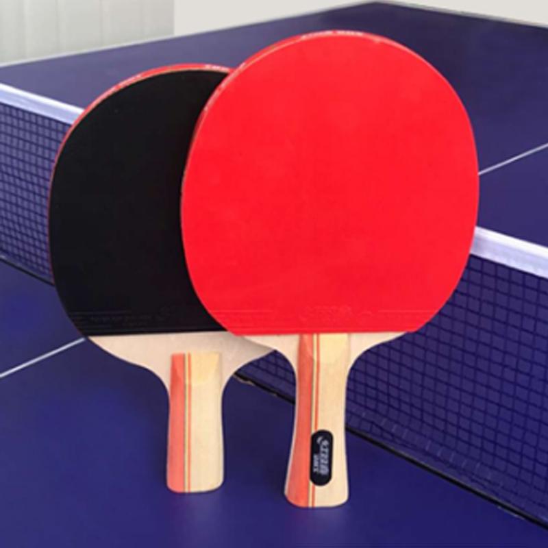 红双喜乒乓球拍2只装1只双单拍