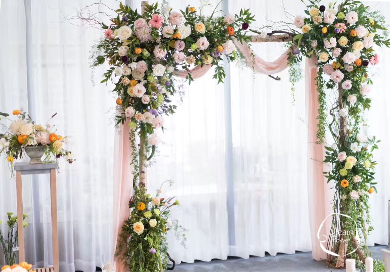 Usd 2464 tucson based wedding props white birch arches stakes tucson based wedding props white birch arches stakes flower door stump juan gate arch background ornaments sign in table decorations junglespirit Images