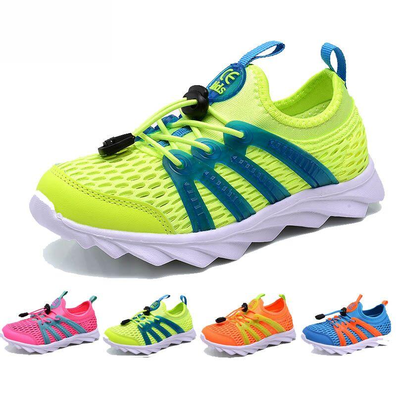 儿童运动鞋网面透气网眼鞋子