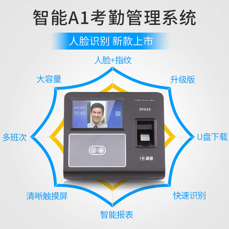 Infrared face recognition] Comet attendance machine