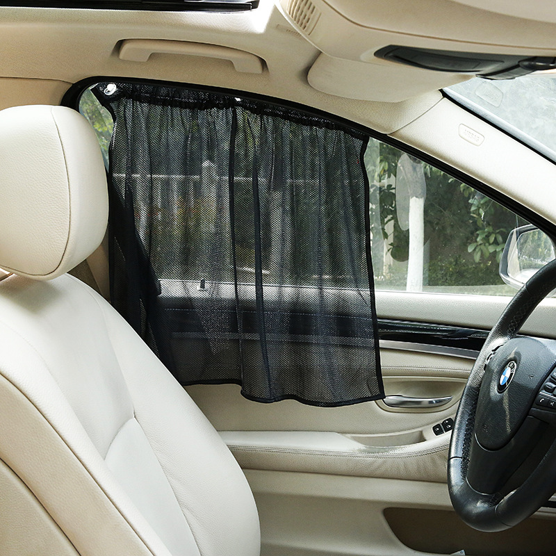 Car Magnet Sunshade Magnetic Car Curtain Mesh Sunscreen Insulation