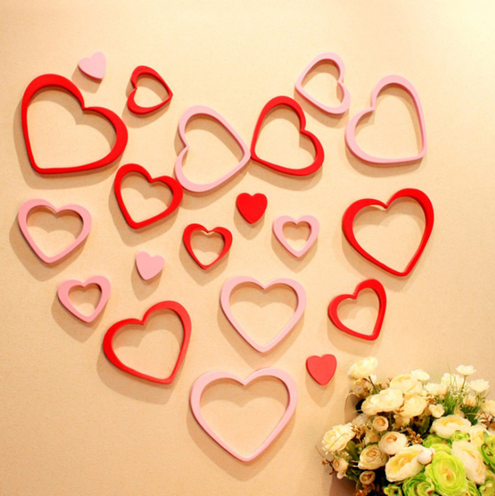 Usd 595 South Korea Ins Pink Love Wall Stickers Cute Ins Girls