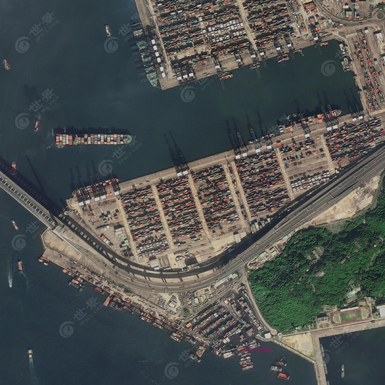 中远国际货运码头