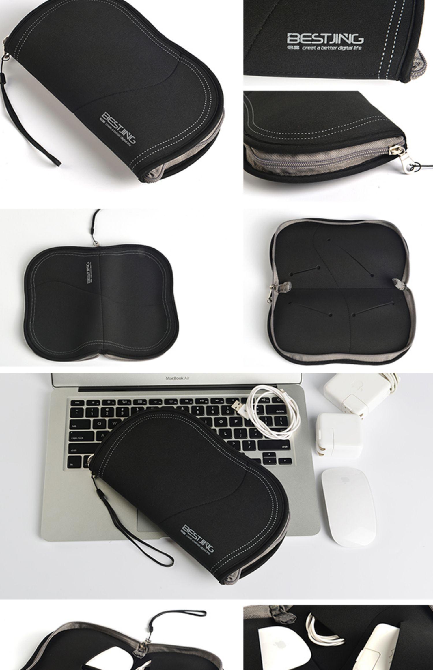 华为matebook x笔记本电脑pro荣耀MagicBook14数码收纳包d充电器e适配器保护包电源套鼠标数据线包商品详情图