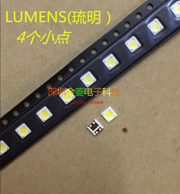 LUMENS)3535 lamp beads LED LCD TV backlight beads 1W 3V 3537 cool white light