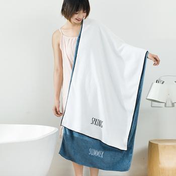 【极有家认证】疯抢180万日系刺绣大浴巾