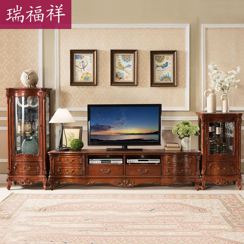 USD Rui Fu Xiang Simple Europeanstyle Living Room - Fu xiang cabinets