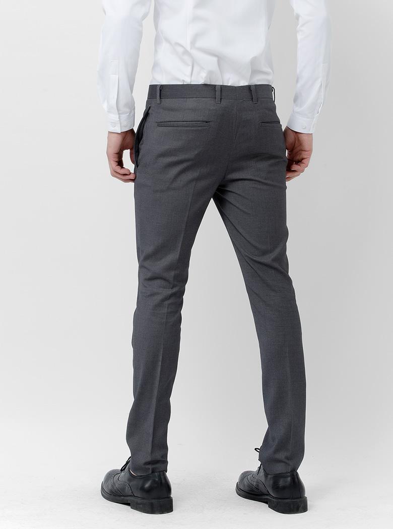 元本 BASIQUE phiên bản mỏng siêu mỏng của nam giới quần mùa xuân phù hợp với quần chân thẳng Người Anh ăn mặc quần