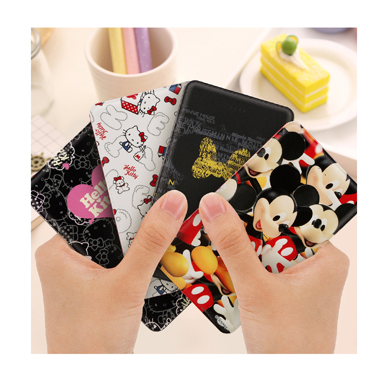 Hello Kitty / Disney Mickey Mouse 9mm Ultra Slim 5000mAh Power Bank for iPhone iPad Samsung HTC Sony Android Smartphone Tablets