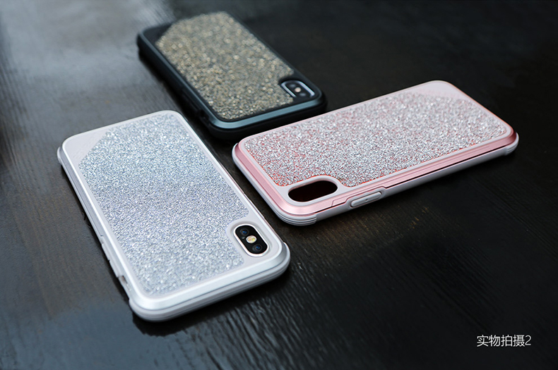X-Doria Defense Lux Crystal Military Grade Tested Aluminum Metal Protective Case for Apple iPhone X / iPhone 8 Plus / iPhone 8 / iPhone 7 Plus / iPhone 7