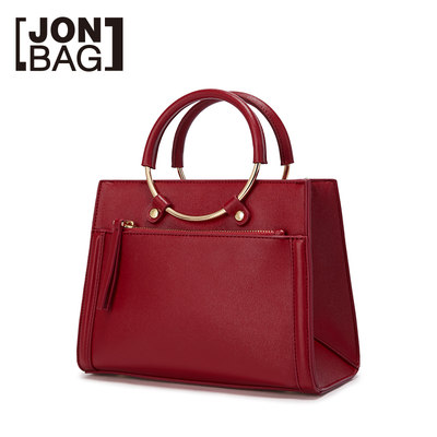 Jane 新娘 新娘 bride red summer small bag net red 2019 new fashion Messenger bag handbags married women bag