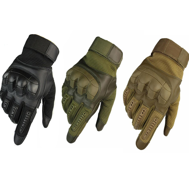 Touch Screen Tactical Gloves Men - Motorcycle Gloves