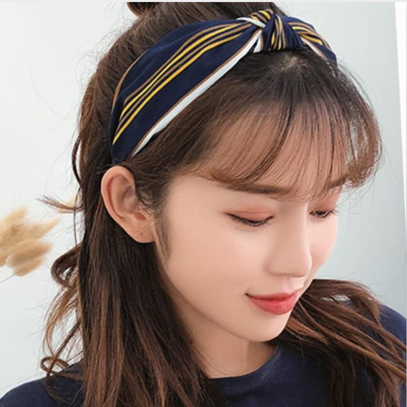 韩国发捆发箍女宽边百搭简约发卡压发头箍清新外出网红洗脸发带