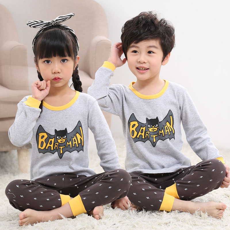 LIGHT GRAY 0801 GRAY BATMAN CLOTHES