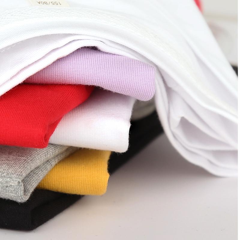 纯棉白色T恤女短袖宽松薄款2021春季新款夏装纯色半袖女装上衣丅(纯棉白色T恤女短袖宽松薄款)