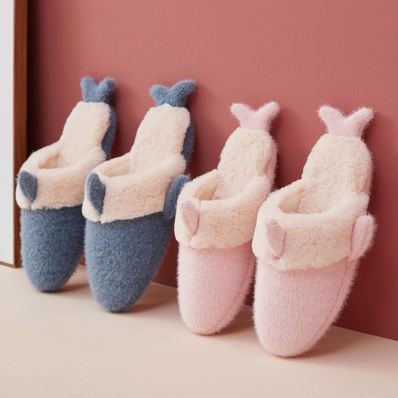 远港 情侣款厚底保暖棉拖鞋 天猫优惠券折后¥12.9起包邮(¥15.9-3)多色可选