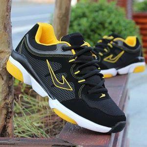 Mùa hè của nam giới giày thể thao nam giày chạy tăng giày đơn giày lưới thoáng khí giày thủy triều sinh viên thấp để giúp sneakers