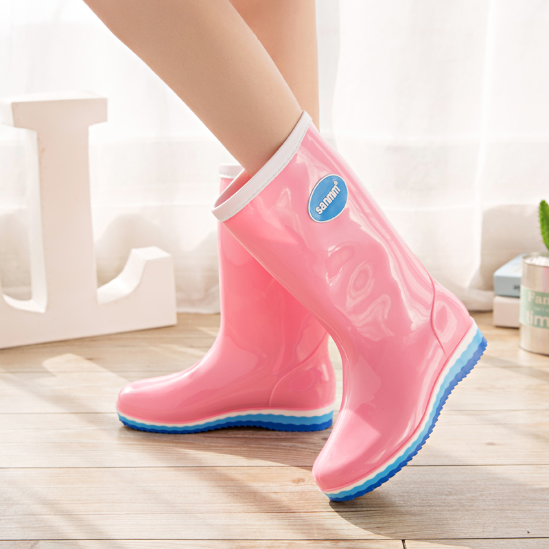 085d7504e3bd Autumn and winter Korean fashion rain boots ladies adult students in the  high tube waterproof shoes · Zoom · lightbox moreview · lightbox moreview  ...