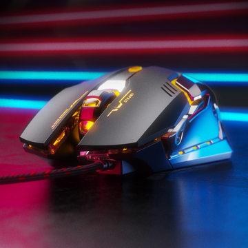 发光机械专业电竞游戏有线鼠标