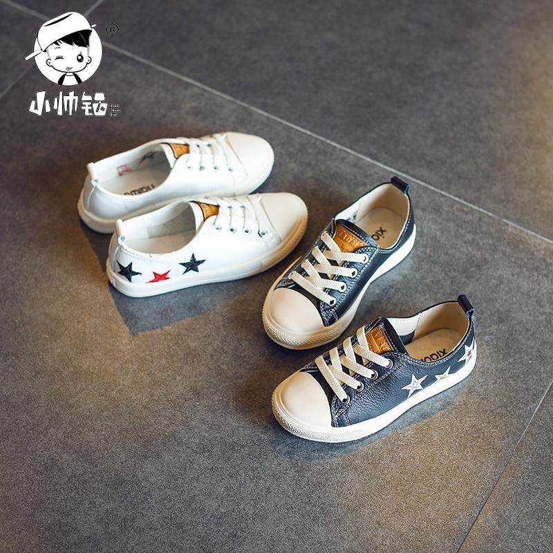 2018 корейская новая версия модель холст обувь ребенок весна низкий обувь мальчиков скольжение обувь casual девочки спортивной обуви волна