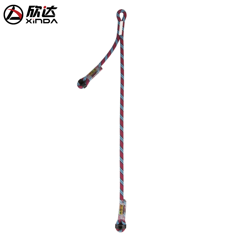Xinda/Xinda outdoor Climbing protection rope fall protection safety rope  power rope oxtail asymmetric pull cable