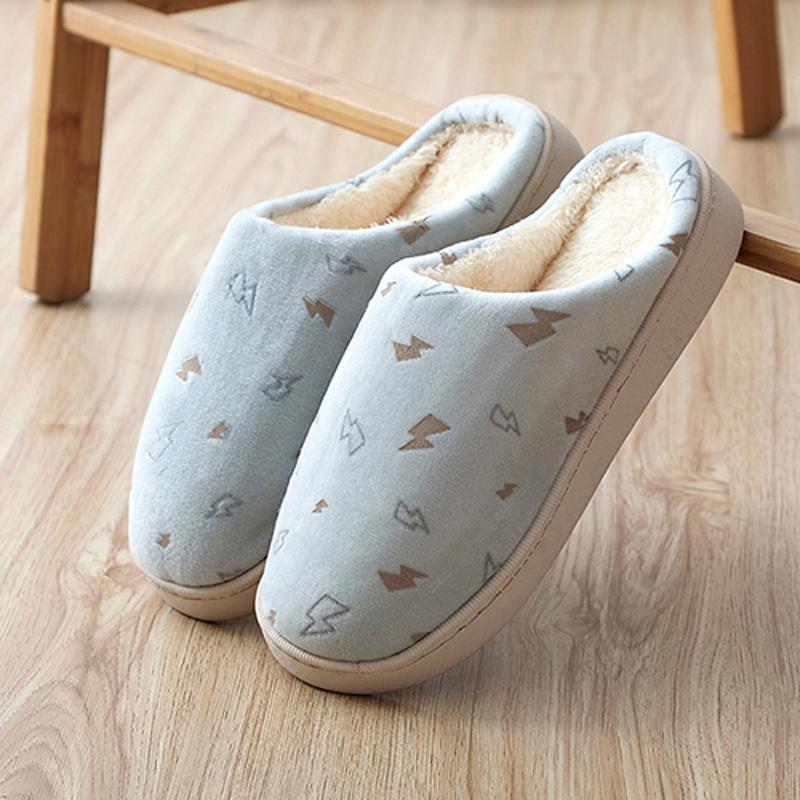 保暖防滑棉拖鞋