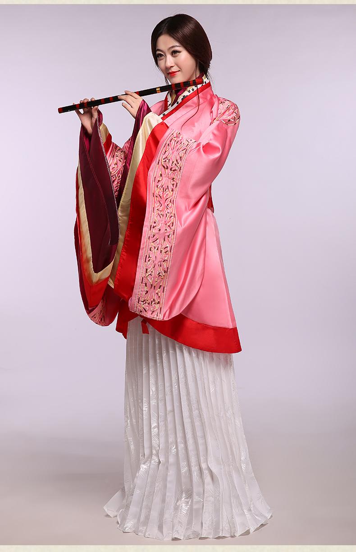 汉服曲裾女装表演馆陶公主演出服 - 1505147909 - 太阳的博客