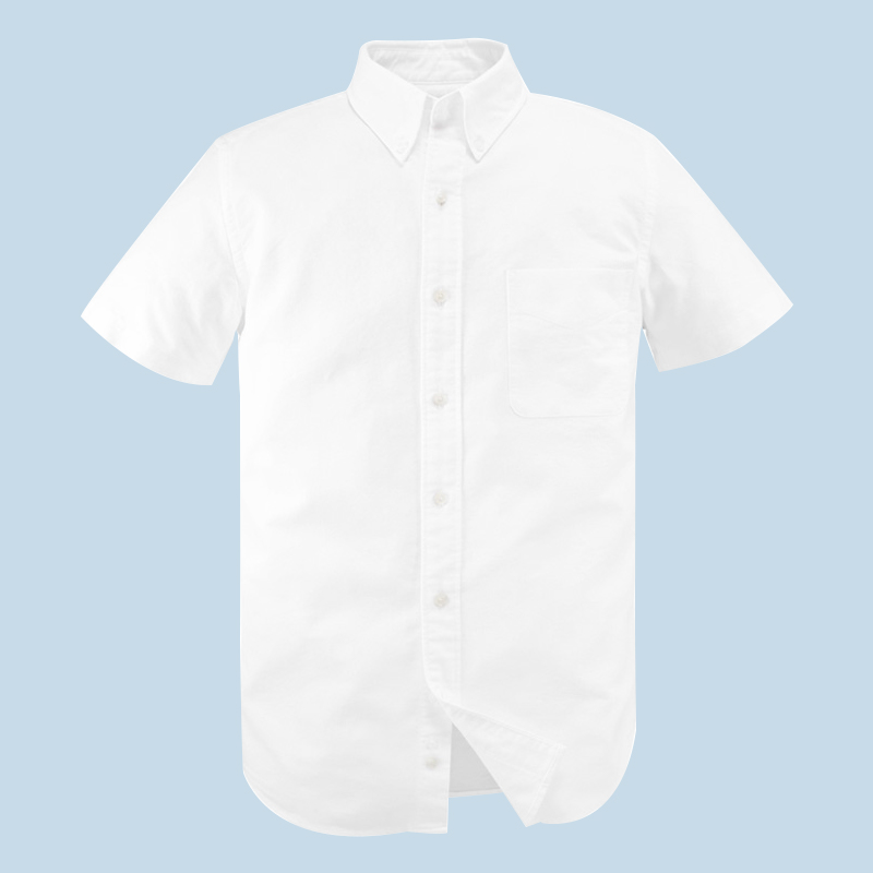 【旗舰店】100%棉:Vancl 凡客诚品 男士牛津纺短袖衬衫 69元包邮(99-30元券)