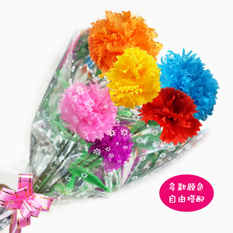 Usd 579 thanksgiving handmade carnations making material pupils lightbox moreview mightylinksfo