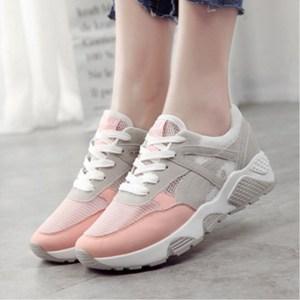 真皮运动鞋女韩版平底板鞋女秋冬季休闲鞋女鞋跑步鞋学生百搭单鞋