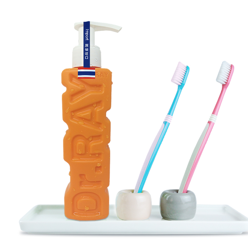 Dr.ray雷治泰国进口去口臭含氟牙膏瓶装按压式除口臭清新口气1支