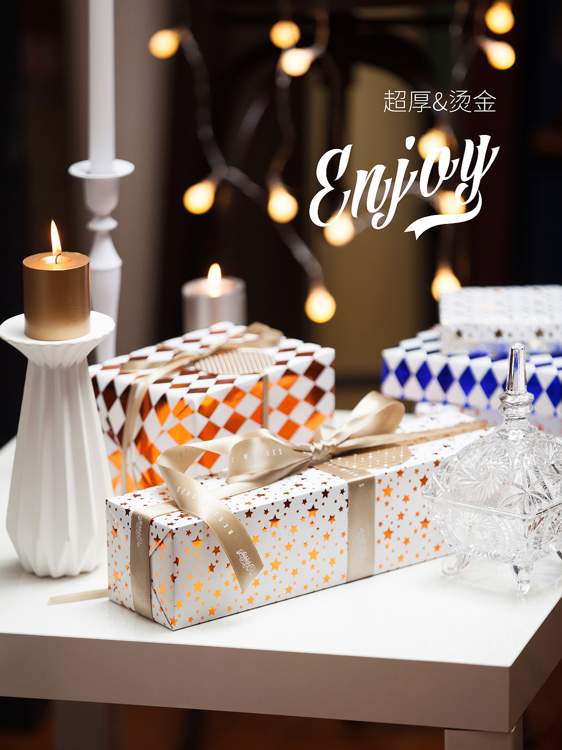 USD 9.06] Wrapping paper Christmas color plaid birthday girls gifts ...