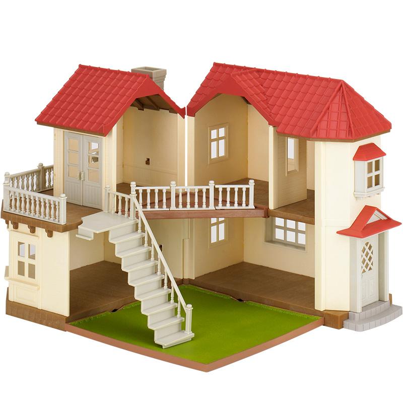 森贝儿家族过家家套装玩具,送孩子创意玩具礼物