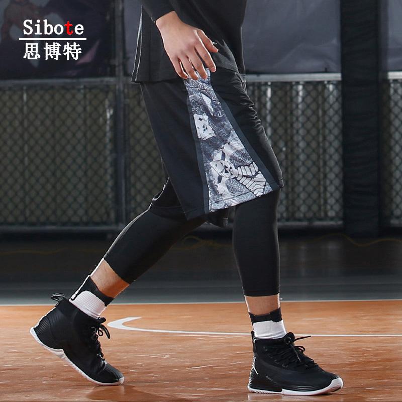 篮球裤短裤夏季男士宽松速干五分裤跑步训练裤子健身裤透气运动裤