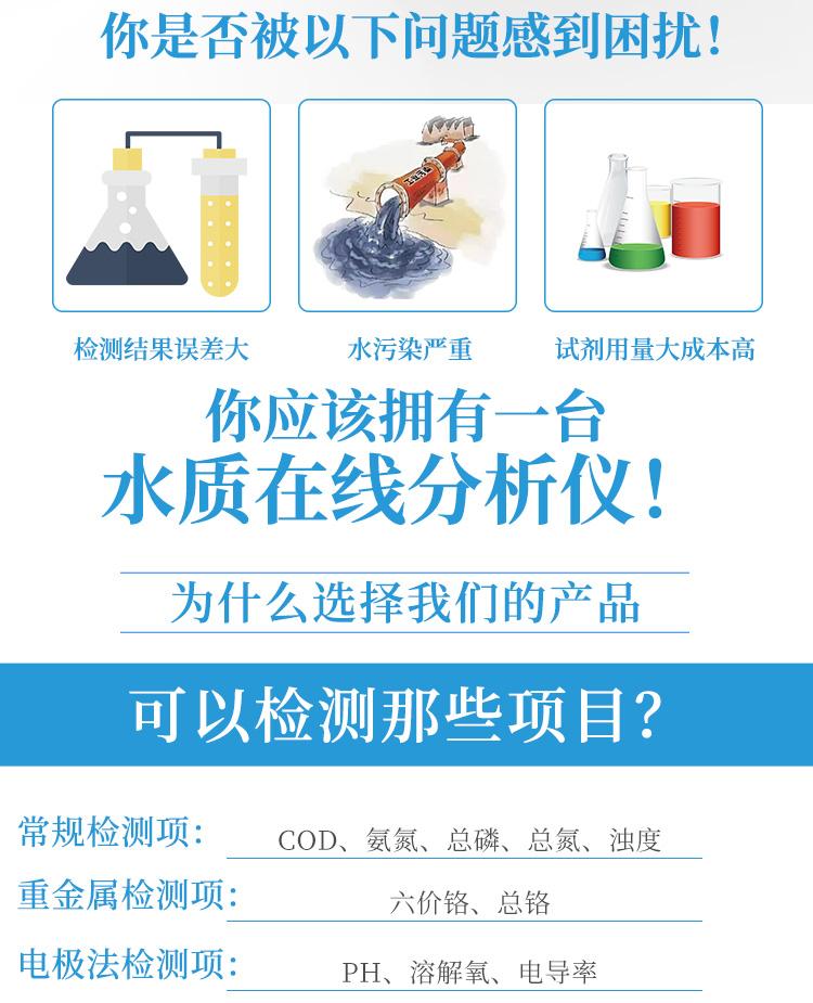 COD总磷总氮氨氮在线分析仪