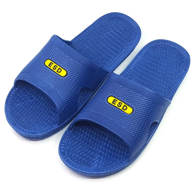 Dép chống tĩnh điện xưởng không bụi SPU Giày đế mềm Giày đế mềm Nhà máy nam và nữ thoáng khí chống trượt chống trượt giày