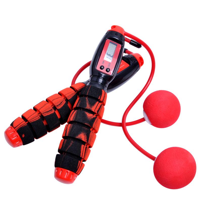 【减肥必备】防缠绕电子计数跳绳