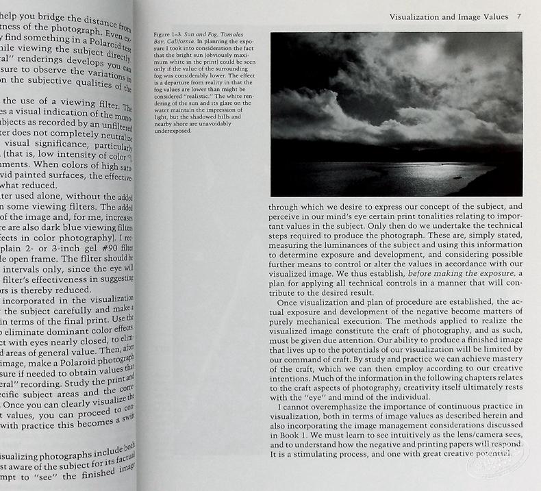 The Negative論底片 Ansel Adams安塞爾亞當斯 進口藝術 攝影理論拍攝技巧曝光方法膠片教科書