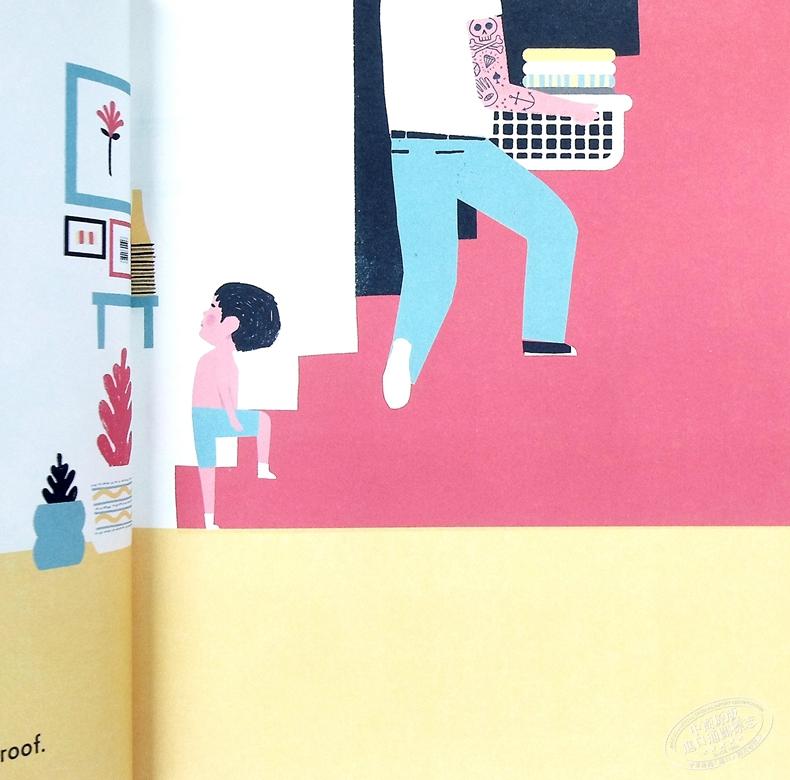 Keith Negley:My Dad Used To Be So Cool 爸爸總是酷的 精品繪本 低幼親子故事繪本 平裝 英文原版 3-6歲
