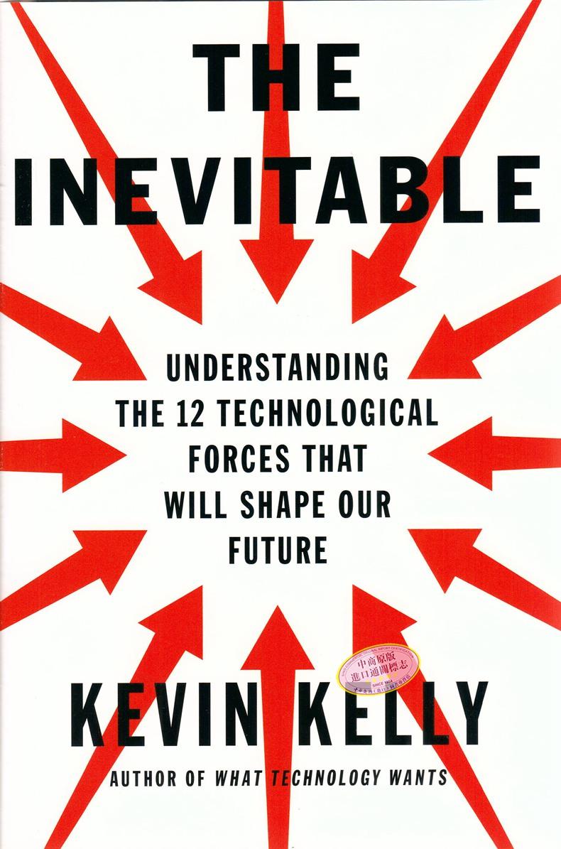 【中商原版】凱文·凱利:必然 英文原版 The Inevitable
