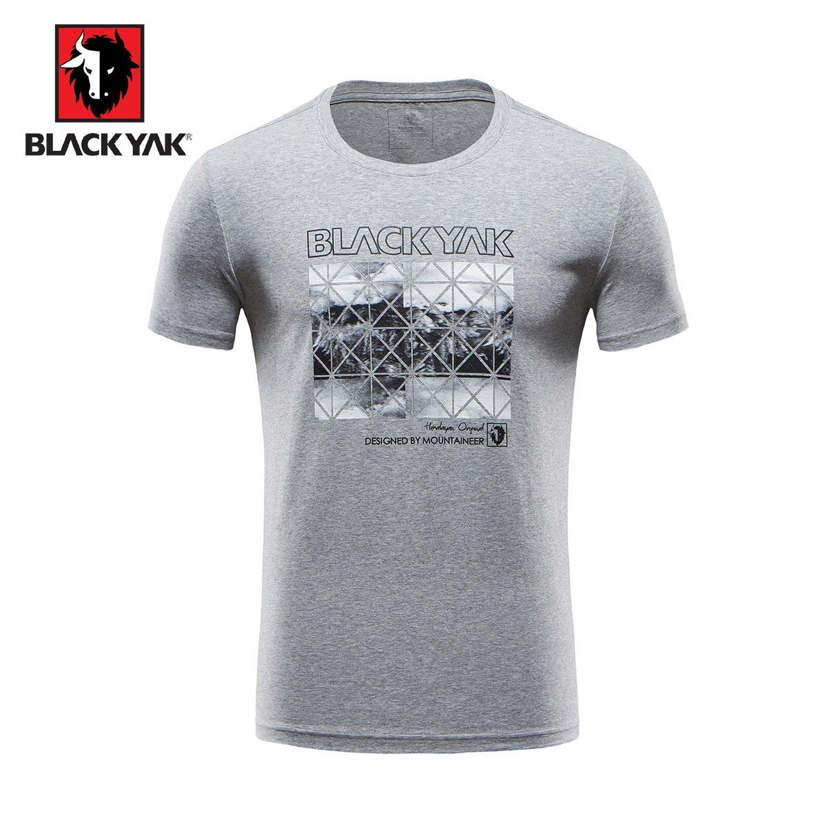 Black yak t shirt - 17 New Black Yak Bulaiyake Spring Summer Men S Casual Stretch Short Sleeve T Shirt Skm133